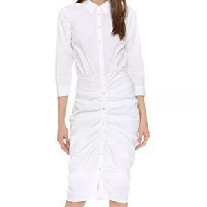 Veronica Beard Capella White Shirtdress White 4